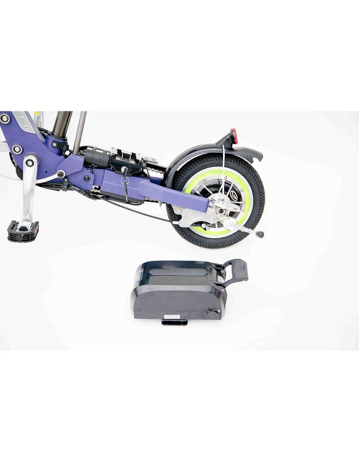 bicicletta elettrica batteria removibile