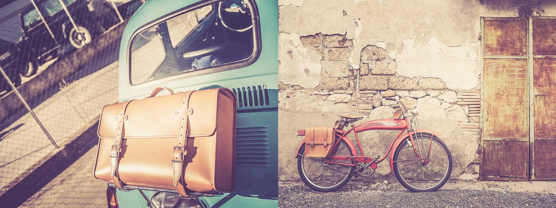 borse in cuoio vintage