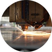 taglio e sgolature laser