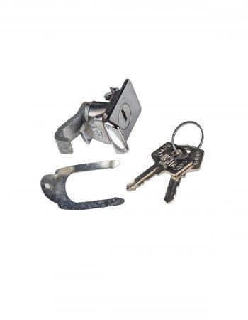 073258 serratura sportello sella completa rettangolare