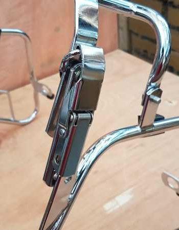 Portapacchi-portabauletto originale Piaggio per exagon cromato