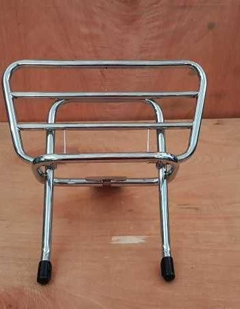 Portapacchi posteriore cromato originale Piaggio per Vespa PX