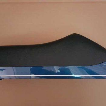 Sella originale Piaggio Vespa PK con gancio porta oggetti